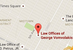 Law Offices of George Vomvolakis Office Location